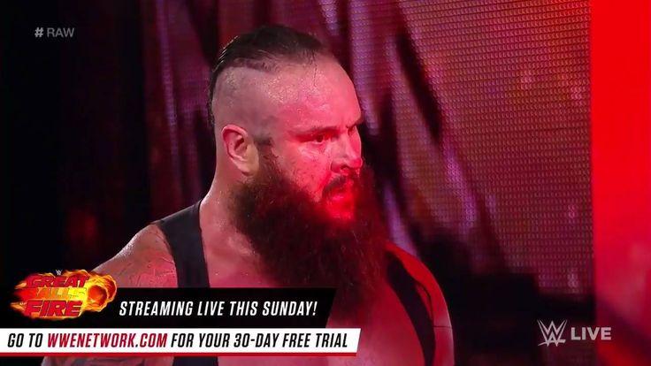 A FIRED UP Braun Strowman + a VENGEFUL Roman Reigns = 100% DESTRUCTION on WWE Raw!!!