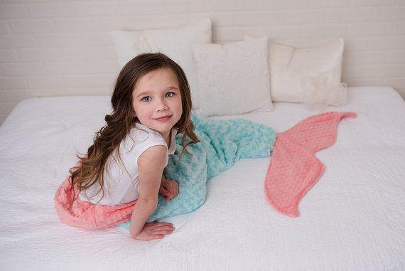 sleep like the fishes... www.etsy.com/listing/252284738/mermaid-tail-mermaid-blanket-mermaid