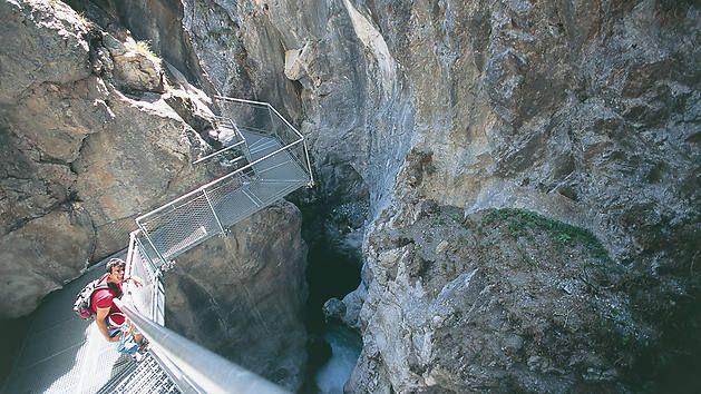 Alpen, Deutschland, Italien, Klamm, Österreich, Schlucht, Schweiz, Südtirol, Wandern, Wasserfall