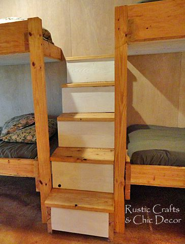 1000 images about bedroom ideas on pinterest loft bed for Log cabin style bunk beds