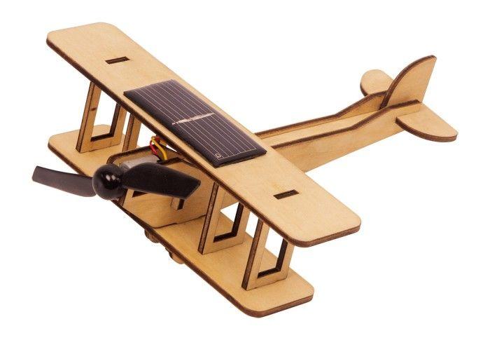 avion juguete solar