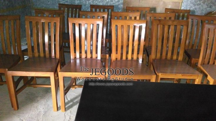 The Jegoods Woodworking Studio Furniture Indonesia. Design and produce teak #minimalist #contemporary dining chair. High quality handmade #furniture craftsmanship Indonesia at low price. http://jeparagoods.com #handmadefurniture #teakfurniture #furnituremanufacturer #teakdiningchair #kursimakan #kursicafe #kursirestoran #indonesiafurniture #indonesiateak    Jegoods Woodworking Studio (@jeparagoods) | Twitter