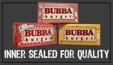 "Only in the South would you have have a frozen burger patty named ""Bubba"". But, man, these things are good."