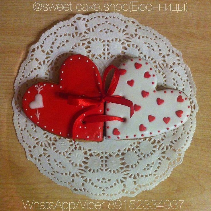 12 отметок «Нравится», 4 комментариев — Евгения (@sweet.cake.shop) в Instagram: «Сегодня покажу вариант оформления романтических сердечек-пряников ❤️Отличный подарок для…»