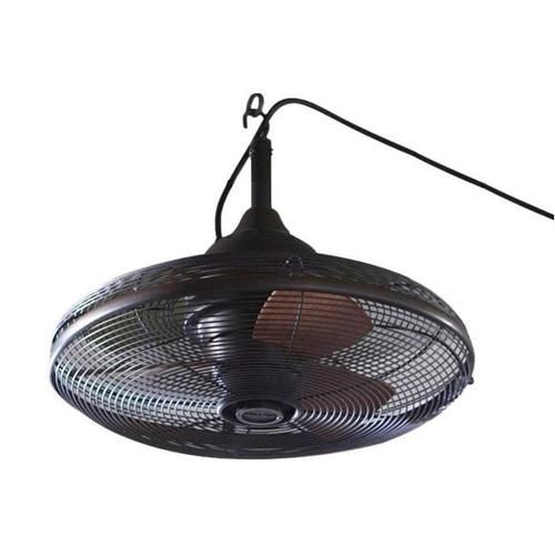 lowes lighting | Allen Roth Rubbed Bronze Outdoor Ceiling Fan at Lowes Lighting Outdoor