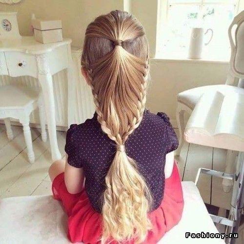 Прически для маленькой принцессы