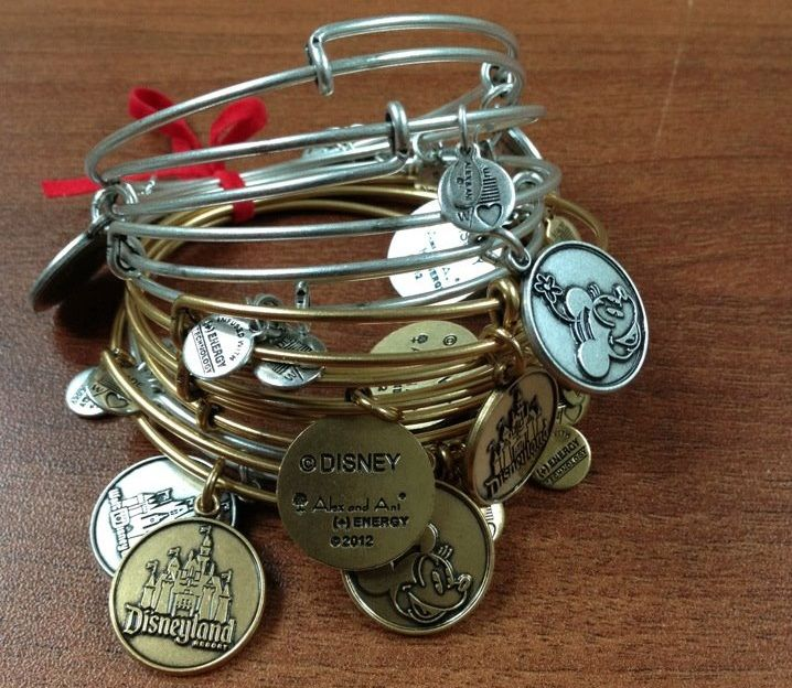 Alex & Ani is the latest designer to join the ranks of other popular designers creating special products for Disney. These will be coming home with me in Oct!!