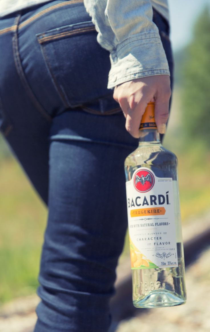 Cruise over to your nearest store to pick up Bacardí Tangerine rum at your next party. It's an instant hit!