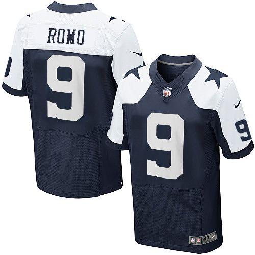 ... Drift Fashion NFL Mens Elite Nike Dallas Cowboys 9 Tony Romo Throwback  Jersey ... 98ed3b097
