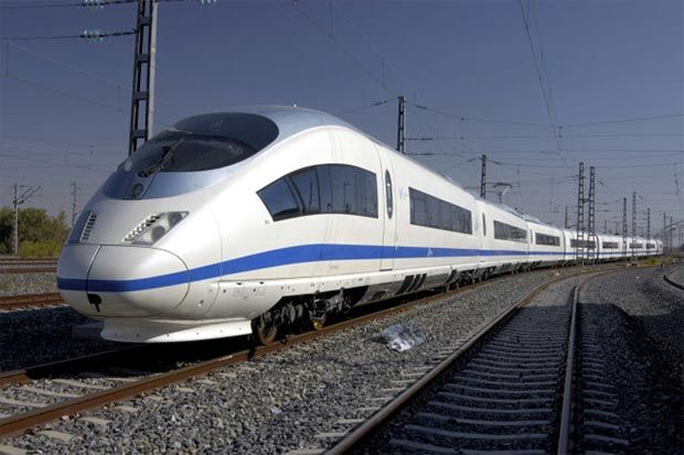 China Railway High-Speed​​, which is the Chinese railway system, already operates a number of bullet train models like CRH1, CRH2, CRH3, CRH4 and CHR5. CRH3 type is the fastest, based on Velaro Sony Ericsson technology, designed to run at a speed of 350km / hour (though in 2008, a CRH3 reach a top speed of 394.3 km / h (245 mph) during tests carried out between Beijing and Tianjin).