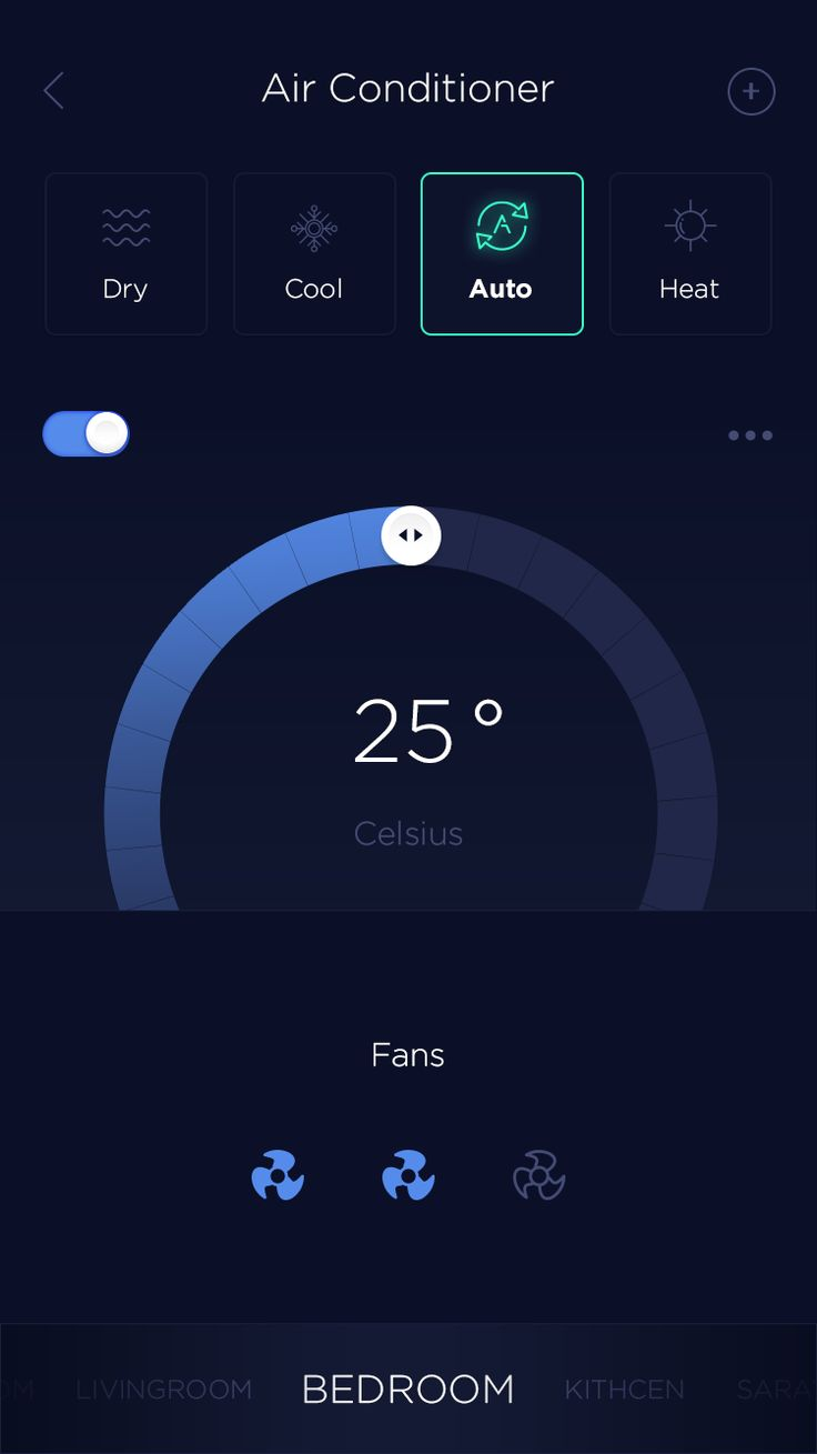Smart Home - Air Conditioner Controller