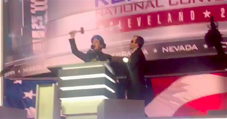 Stephen Colbert Hijacks RNC Stage In EPIC Roast Of Donald Trump, Gets Thrown Out (VIDEO)