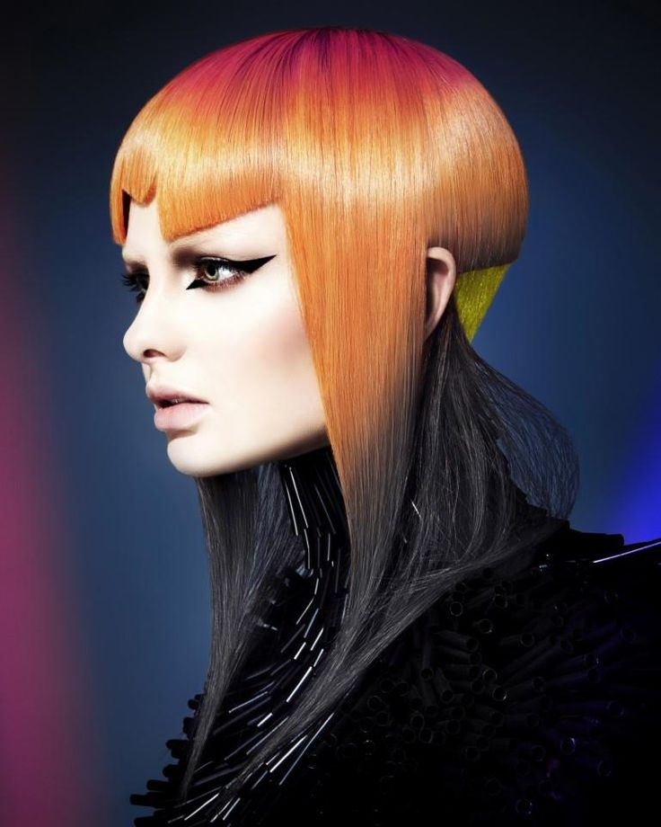 futuristic hair ideas