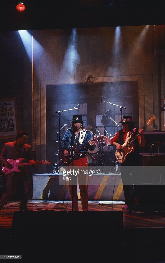 LIVE -- Episode 10 -- Air Date -- Pictured: Musical guest Stevie Ray Vaughn performs on February 15, 1986 -- Photo by: Al Levine/NBCU Photo Bank