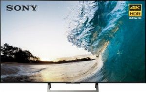 "Sony - 65"" Class (64.5"" Diag.) - LED - 2160p - Smart - 4K Ultra HD TV with High Dynamic Range - Black - Front Zoom"