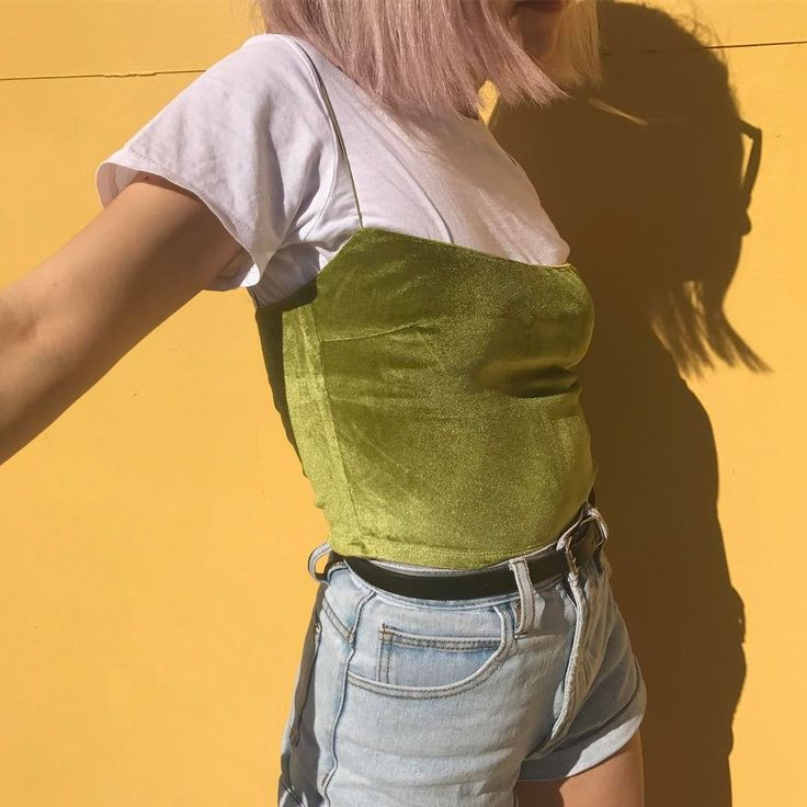 i love how this tshirt under tank top thing is now becoming a trend,,, i literally used to dress like this when i was 4