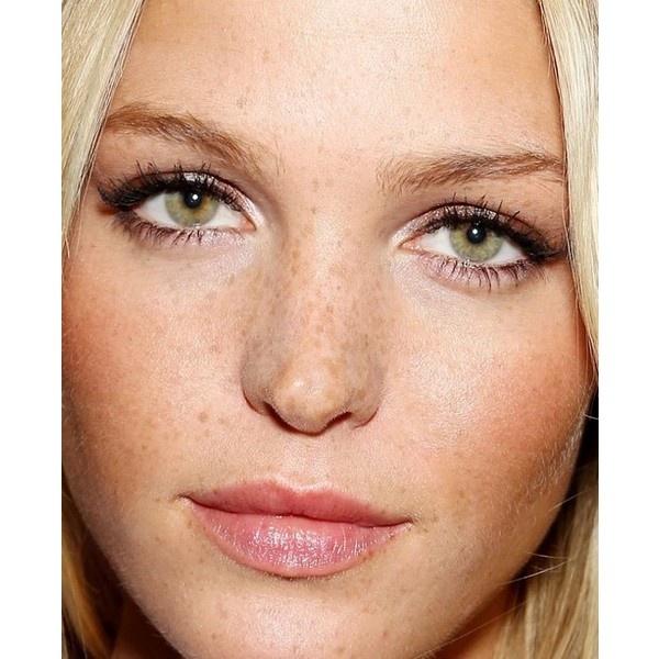 My fave celebrity makeups ❤ liked on Polyvore