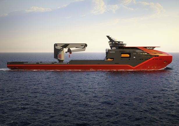 Vard Offshore Subsea Construction Vessel by Montaag Design