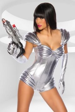 Silver Space Suit Astronaut Costume £40 from Chattygirl.co.uk