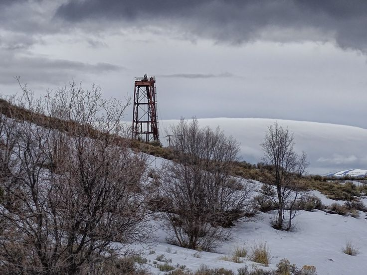 The clouds and the snow give this image depth and help to define the scene. Utah has a lot of abandoned mines, as does Arizona. I have my...
