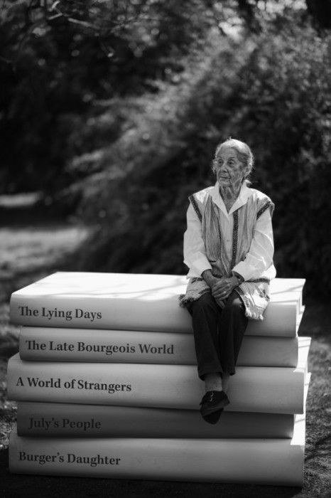 Nadine Gordimer in21 Icons: Portrait of a Nation, at Museum of African Design, June 16 – Aug 17, 2014 #art #photography #portraits #southafrica