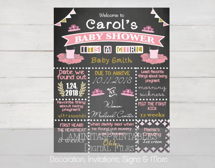 Baby shower decor, baby shower welcome, Baby shower princess, baby shower chalkboard, tiara, tutu, princess theme baby shower, pink and gold by LaminitasPrintables on Etsy https://www.etsy.com/listing/247699264/baby-shower-decor-baby-shower-welcome