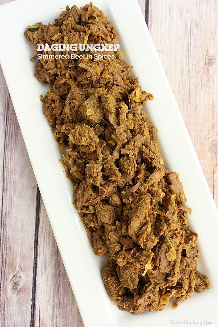 Daging Ungkep – Simmered Beef in Spices