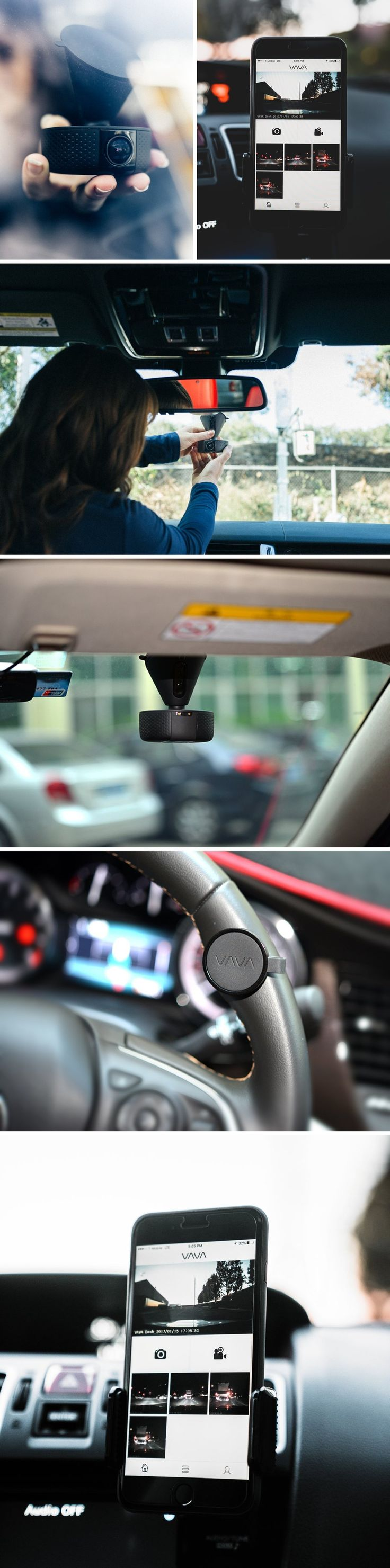 Ever wish you could seamlessly capture and review what's happening on the road in real-time? Now you can. Meet the VAVA Dash Cam, the most versatile car dash camera yet.