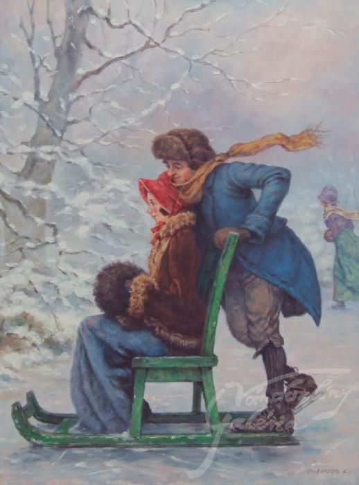 Szász Endre László : A tél örömei