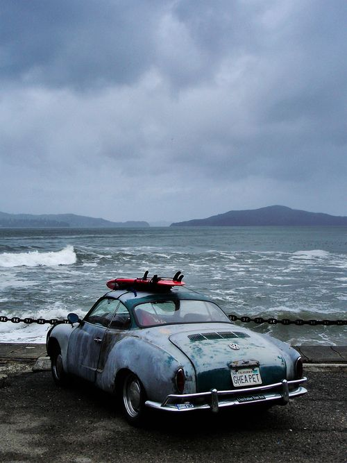 Volkswagen and Sea