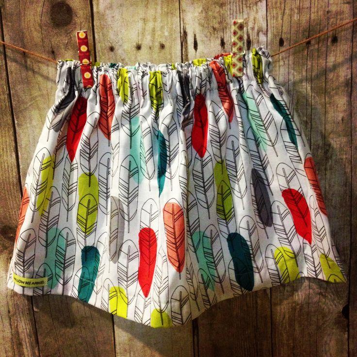 Feather skirt toddler skirts girls skirt girls by WillowBeeApparel, $18.00