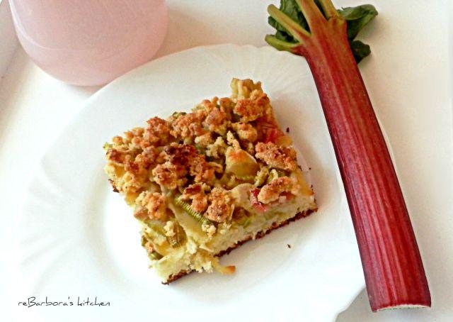 Kefírový koláč s rebarborou | reBarbora's kitchen