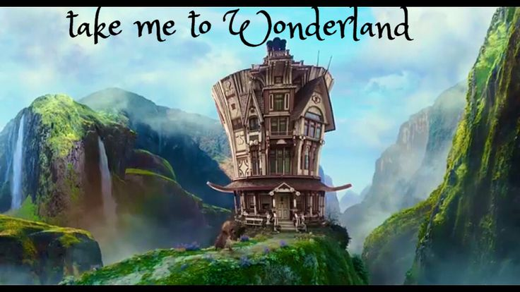"""From the trailer of """"Alice through the looking glass"""" the mad hatter's manor.  #madhatter"""