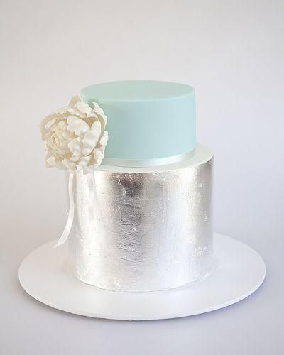 silver cake
