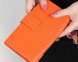 Originálna kožená dámska peňaženka so vzorom krokodílej kože (4)