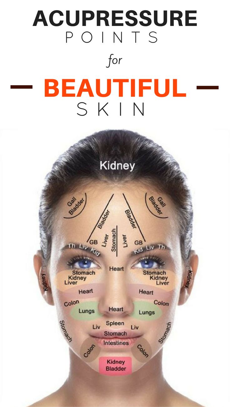 DIY: Acupressure Points for Beautiful Skin - | Face ...