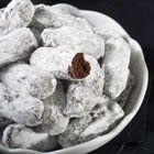 Μπαστουνάκια σοκολάτας με ζάχαρη άχνη ...