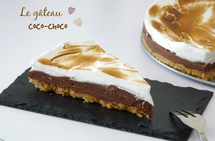 Découvrez dans ce billet la recette du gâteau coco choco ou plus précisément la tarte au chocolat meringuée....