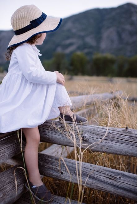 super cute and casual flower girl look captured by Rosanna Nydia Photography http://rosannanydia.com/