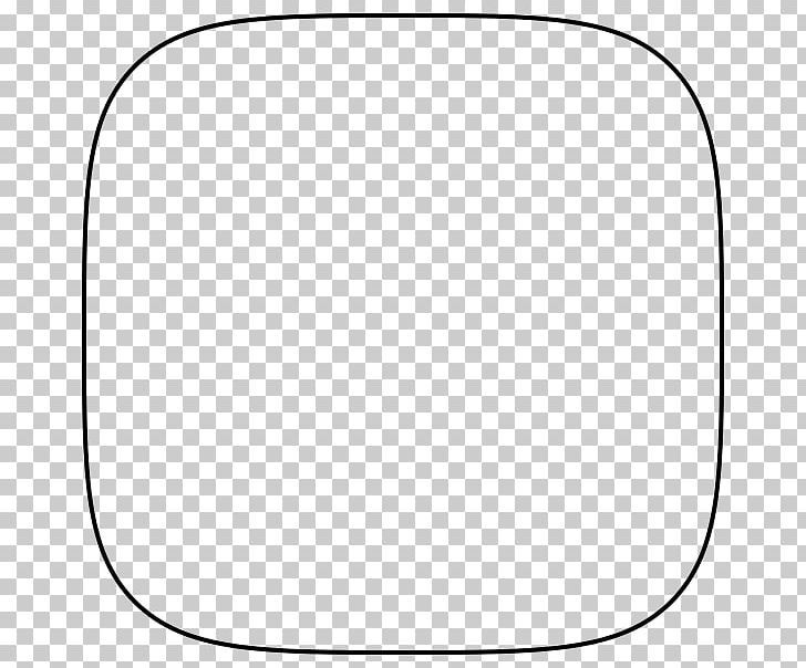 Squircle Square Circle Superellipse Shape Png Angle Area Auto Part Black Black And White Png Circle Square