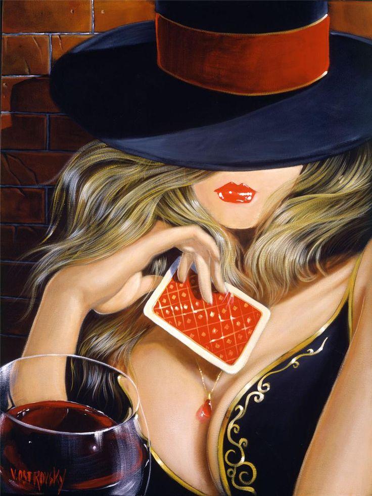 Открыток, смешная картинка роковая женщина
