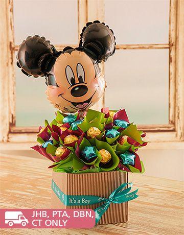Edible Chocolate Arrangements: Mickey Mouse Edible Arrangement!