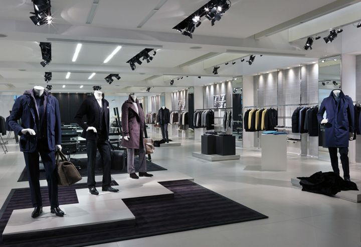 Canali Showroom by GRASSICORREA Milan