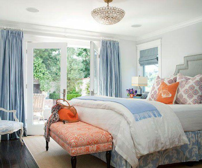 17 meilleures id es propos de rideaux de plafond sur - Rideau chambre a coucher ...