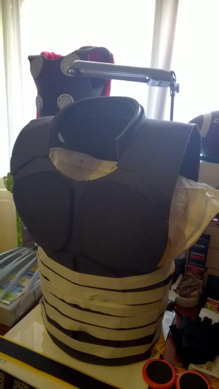 Wolverine chest in progress 4