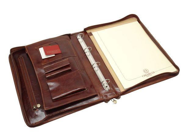 Chiarugi Cavalli schrijfmap - Vind de ideale schrijfmap en onze collectie lederen schrijfmappen - Tassenboetiek