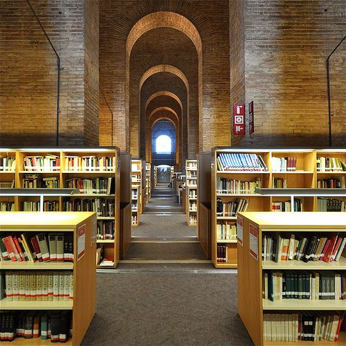 Library at Pompeu Fabra University
