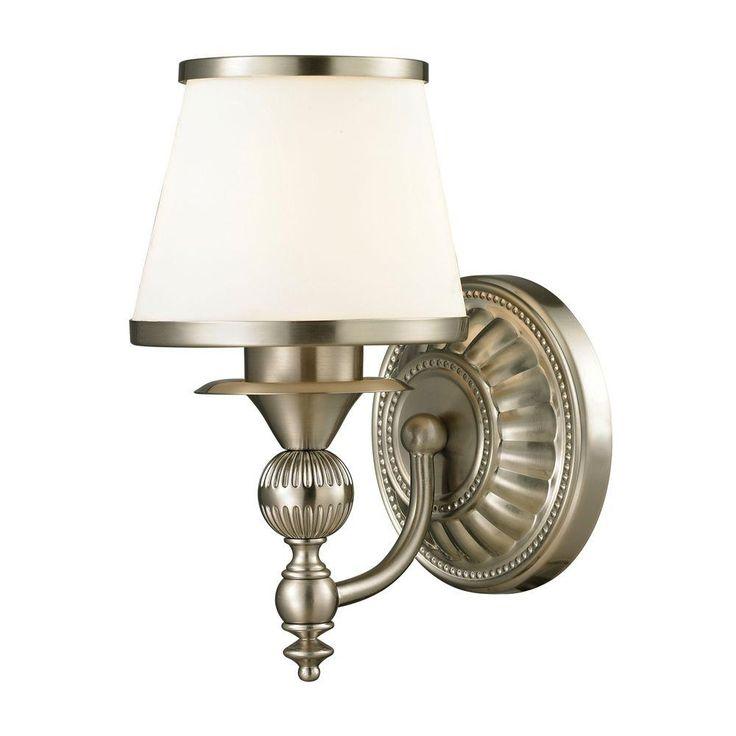 Photo Gallery For Photographers Titan Lighting Cornhill Light Brushed Nickel Bath Light