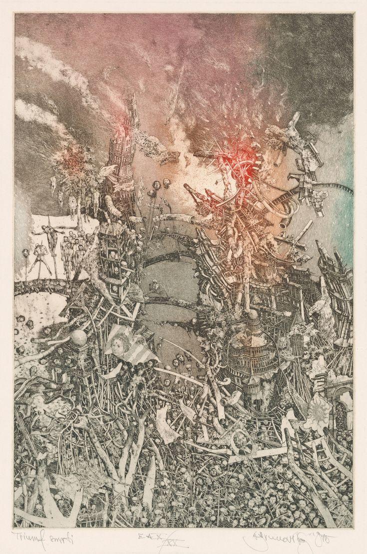 Albin Brunovsky - The Triumph of Death,1975