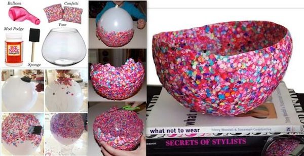 Making something yourself instead of buying it from the shops can give you a real buzz. If you feel like getting creative, then why not gather up your odds and ends and see if you can make one of these impressive DIY bowls. Try this DIY jewelry bowl using two balloons, mod podge, gold glitter and a foam brush. …